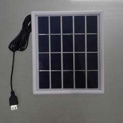 customized design mini size solar panel 183*183mm glass laminate 3W solar panel