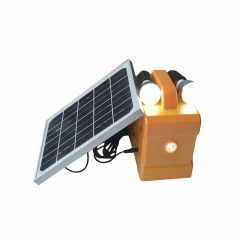 portable 10W solar mini lighting system