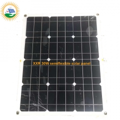 540x430 18v 30w mono semiflexible solar panel