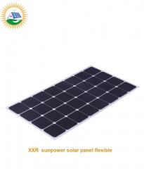 110W 32 cells high efficiency sunpower solar panel flexible