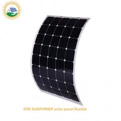 160w 44cells sunpower solar panel flexible