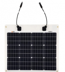 RICH SOLAR 50 Watt 12 Volt Flexible Solar Panel