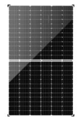 Bificial M144B PERC Half Cell Mono 425-445W Framless