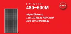 Longi solar panels 480w-505w