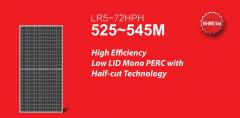 Longi solar panels 525w-550w