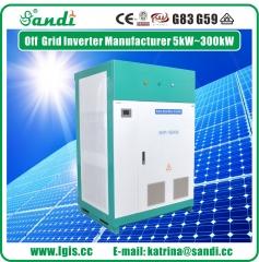 150KW off grid solar inverter