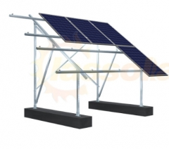Clas Carbon Steel Ground Mounting System