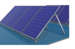 Flat Tin Roof Solar Racking System