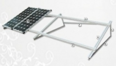 Flat roof mounting bracket