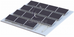 Ballasted Solar Mounting