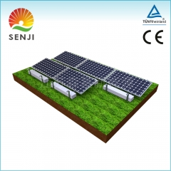Single Structure PV Solar Bracket Systems