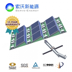 Low Ballasted Aluminum PV Mounting System