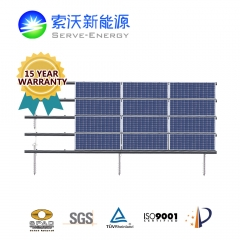 Steel & Aluminum Combined Ground PV Mounting System