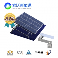Elevated Metal Roof PV Mounting Systems