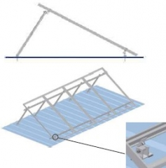 Adjustable Tilt Rooftop Solar Mounting System