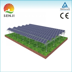 Agricultual Shed Solar Mounting System