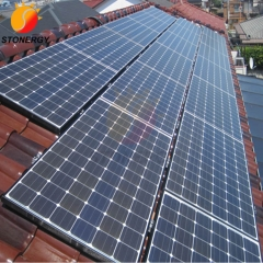 Solar Panel Rooftop Mounting Bracket Pitched Roof System