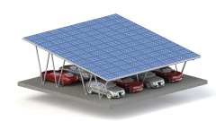 Aluminum Carport PV Mounting System MD-CP01