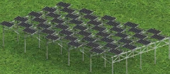 Agricultural Solar Stand