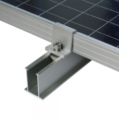 Solar Metal Tin Roof Mini Rail