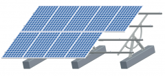 Solar Adjustable Ground Mounting System