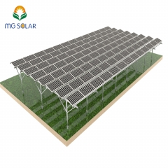 Agricultural Solar Farm Structure System