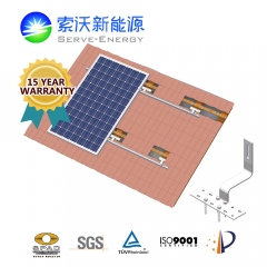 Tile Roof Aluminum PV Mounting System