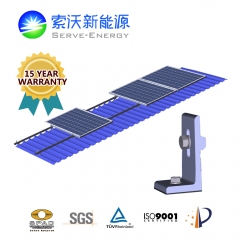 STTS SClip L Metal Roof PV Mounting System