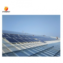 Trapezoidal Roof Mount System for Solar Panel