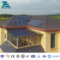 Waterproof Structural Photovoltaic Canopy