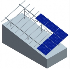 Sloping Ground Mounting System