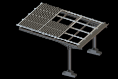 Carport PV Ground Mounting System