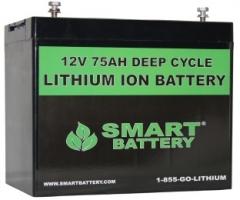 12V 75AH Lithium ion Battery