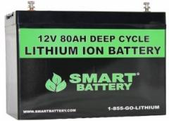 12V 80AH Lithium ion Battery
