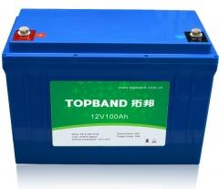 1). 12V series LiFePO4 batteries