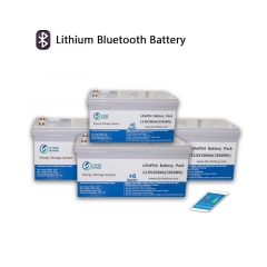 12V bluetooth lithium battery