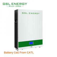GSL ENERGY 48V 5kwh 10kwh Lifepo4 Wall Battery