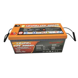 12.8V 300Ah LiFePO4 Battery