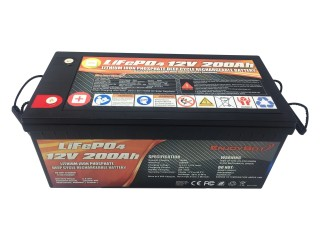 12.8V 200Ah LiFePO4 Battery