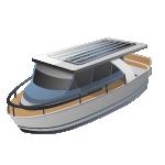 太阳能混合动力船