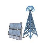 无线电塔发电系统